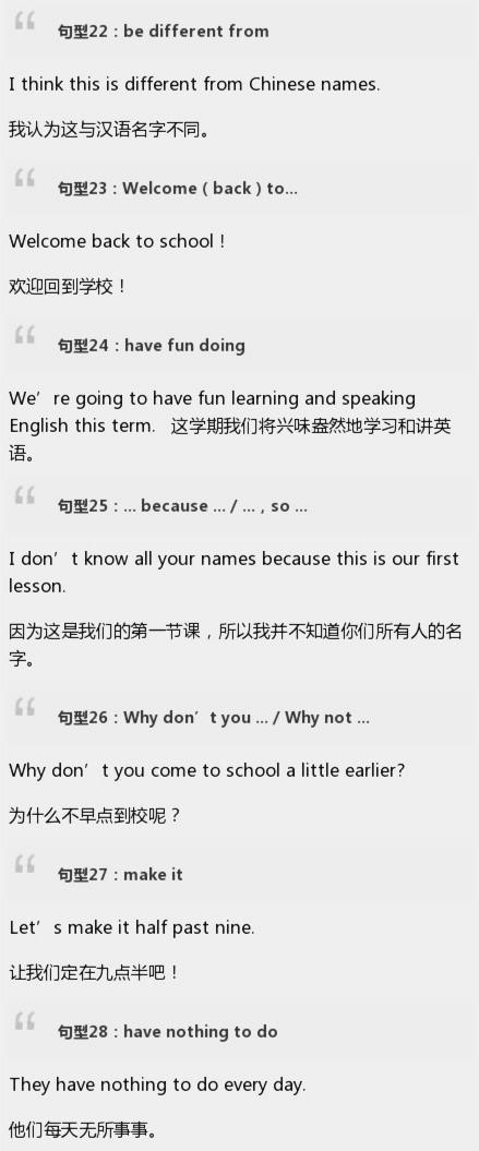 中博考研:英语常用句型集锦