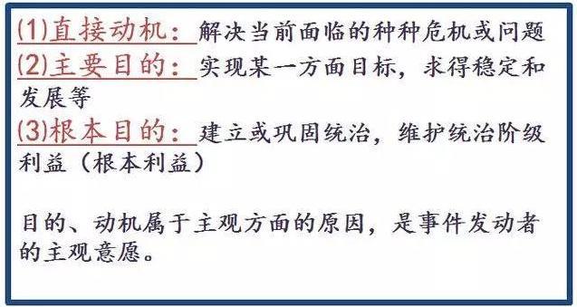 初中历史答题万能公式,这不是套路,这是规范答题格式