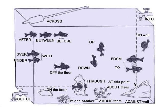 我就靠这1张图,搞定了英语中所有介词的用法!