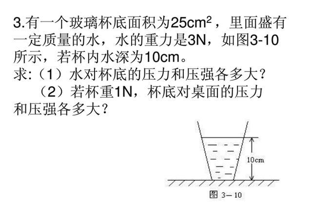 压强公式和液体压强公式的不同点