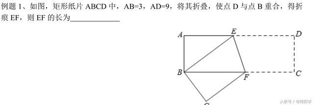 特殊四边形+折叠