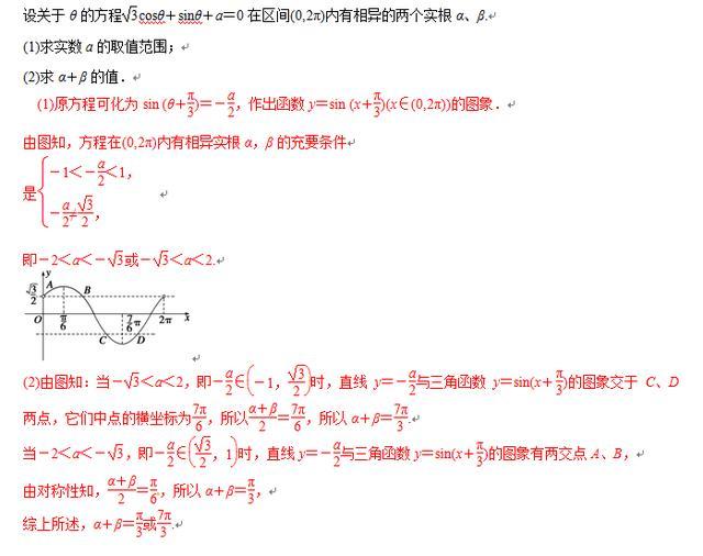 高考数学思想——数形结合思想