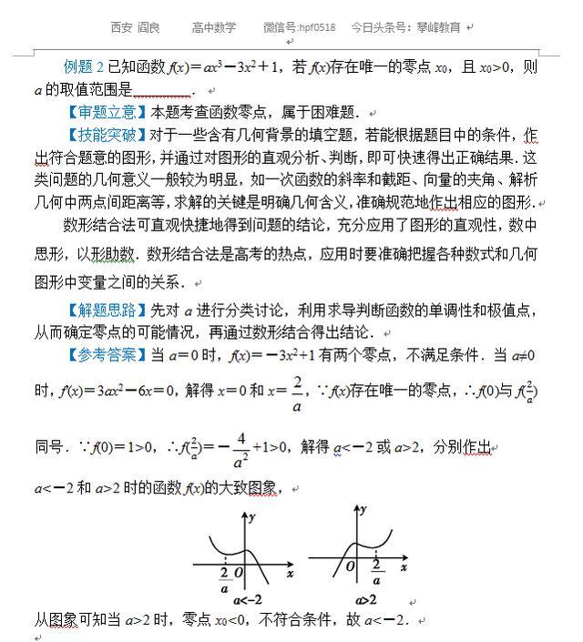 高考数学解题方法——填空题解法专题讲解
