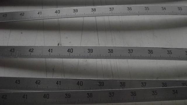 3m直尺测定路基及路面平整度