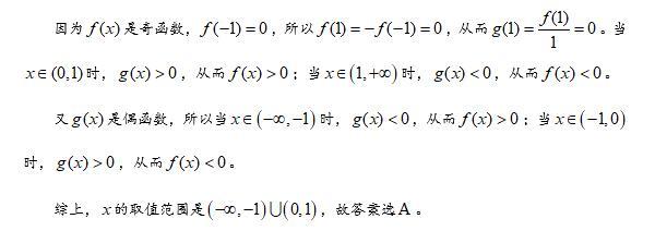 导数与函数的单调性