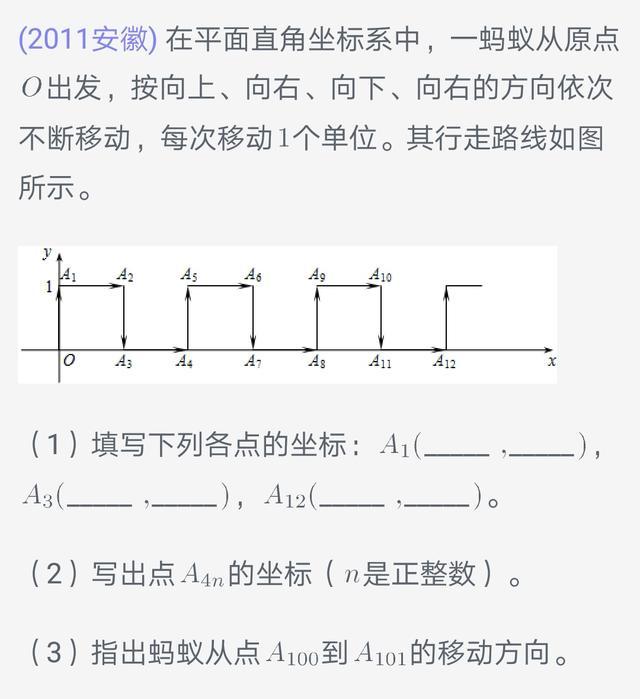 初中数学暑假补习-代数规律探索5
