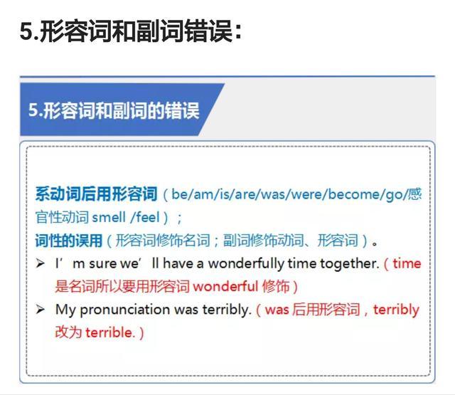 初中英语短文改错常见8大经典题型