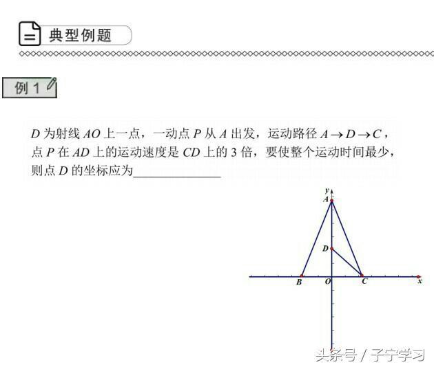 「初中数学」简提胡不归问题