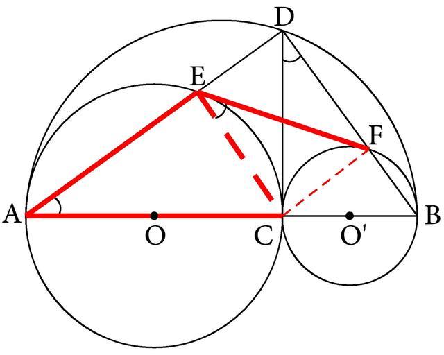 """基本图形分析法:""""三步曲""""式分析初中几何中的弦切角难题"""