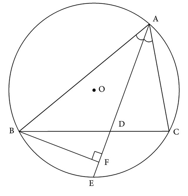 基本图形分析法:帮你分析角平分线和垂线的组合图形(十)