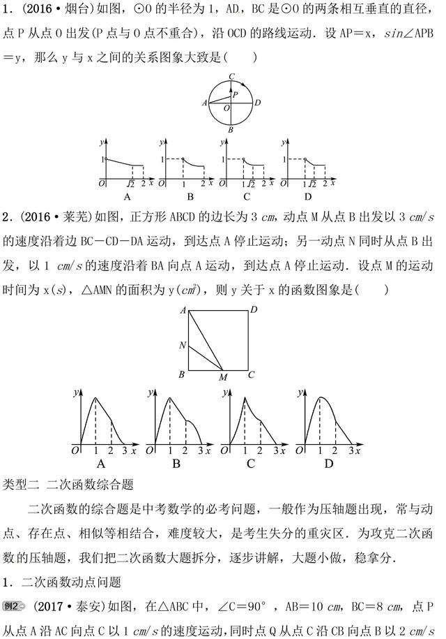 复旦附中尖子班学习资料:初中数学最难题型解析(含答案)