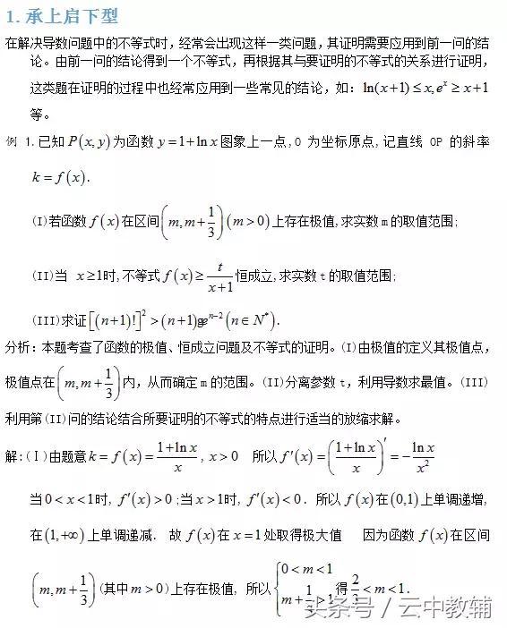 导数中不等式问题的4个解题策略