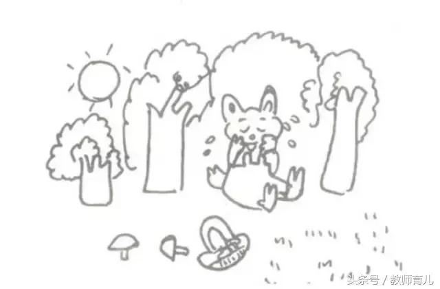 1、2年级语文看图写话专项练习图文题目(附范文)