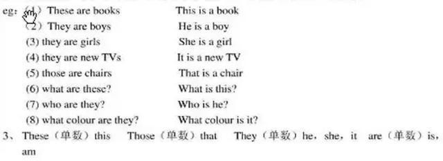小学四年级英语所有易错的重点语法知识整理,超详细讲解