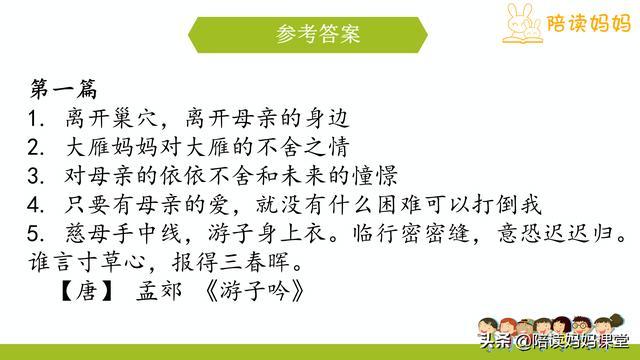小学语文四年级课外阅读理解系列(考试必考题型)——附答案