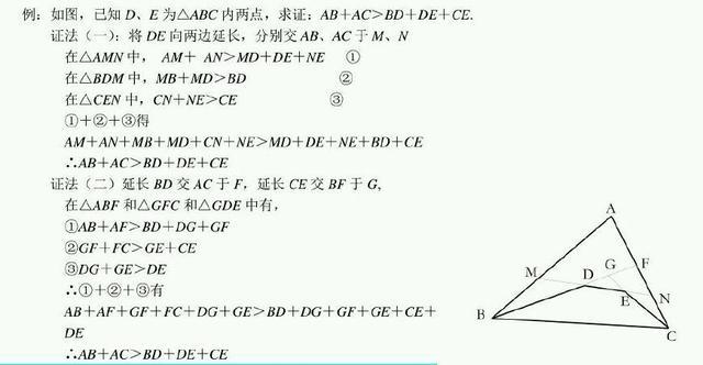 初中三角形最常见26种做辅助线做法及思路