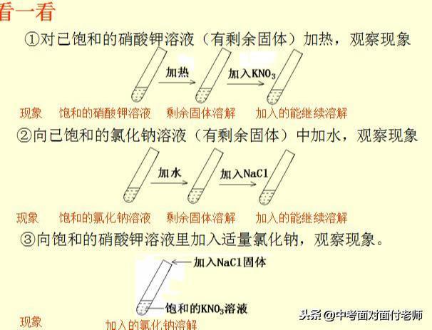 初三化学《溶液》考点总结(附模拟卷)