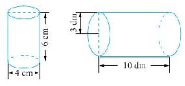 六年级数学——圆柱与圆锥知识点总结+练习题