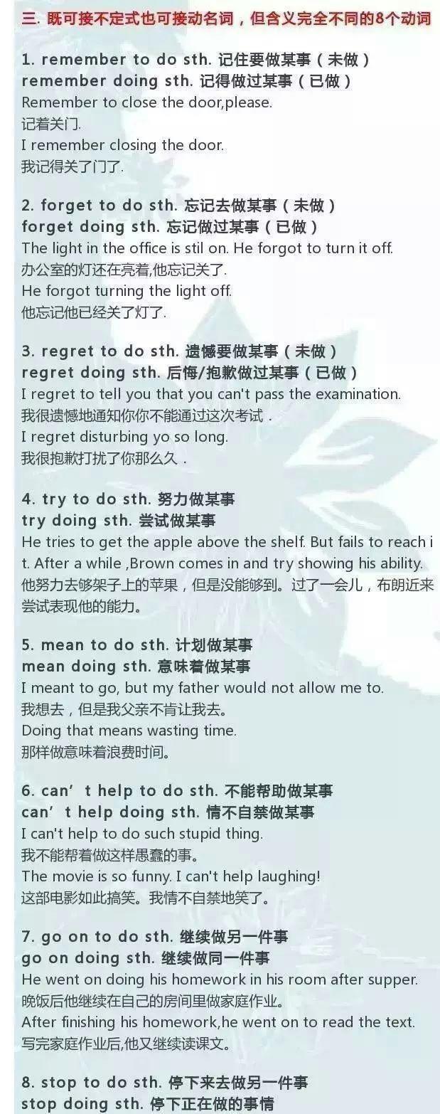 初中英语语法
