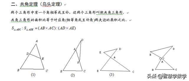 七年级历史考试题_几何之五大模型,包括鸟头定理等,很实用_初中数学_学习资料 ...