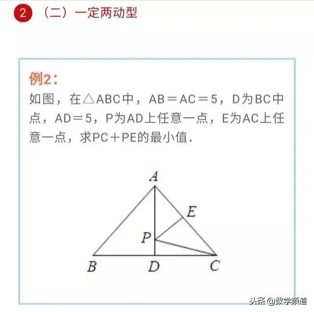 初中数学-必考类型-将军饮马