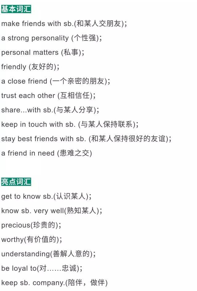 高考英语十大热点话题词汇总结,翻译\阅读\写作全都能用到!