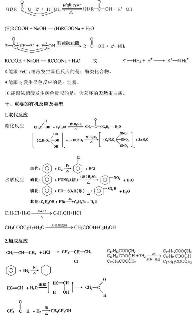 高中化学选修5《有机化学》基础知识点汇总