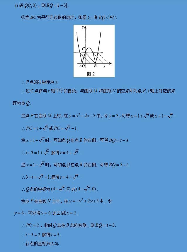 中考中《二次函数》压轴题常考类型合集