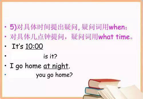 学习技巧:小学英语基本句型详解!