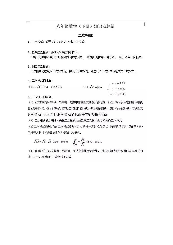 2021年初二下册全科目寒假预习资料(文件编号:21012110)