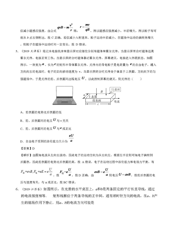 高考物理真题和模拟题分项汇编带答案(文件编号:21032507)